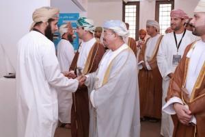 زيارة الدكتور علي البيماني رئيس جامعة السلطان قابوس